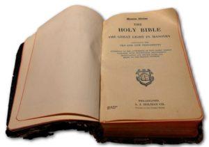 Freimaurerbibel - So helfe mir Gott und der wahre und heilige Inhalt dieses Buches.