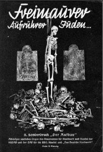 """Das nationalsozialistische """"Logenmuseum in Chemnitz""""."""