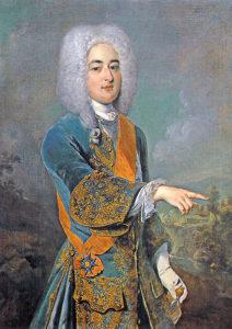 Grafen Albrecht Wolfgang zu Schaumburg-Lippe einer der ersten Freimaurer in Deutschland.