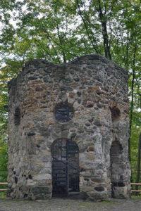 Hinüberscher Garten Hannover – Hexenturm (© Katja Woidtke).