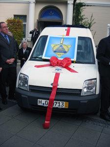 Kauf eines PKW für die Diakonie, zum Transport von behinderten Menschen.