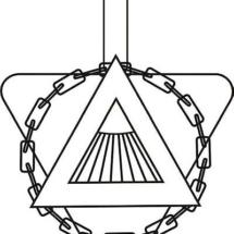 Logenemblem der Loge Baldur ab 1979.