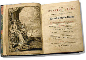 """""""Constitutions"""" herausgegeben von John Entick 1756."""