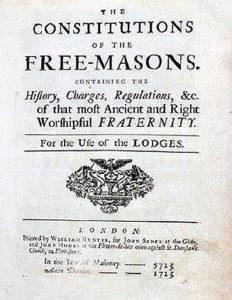Die erste freimaurerische Publikation in den USA waren die von Benjamin Franklin herausgegebenen Constitutionen von Anderson. Franklin publizierte diese im jahre 1734, im gleichen Jahr wurde er Großmeister von Pennsylvania.